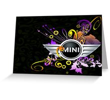for the mini cooper fan Greeting Card