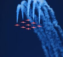 Canadian Snowbirds up and over by N2Digital
