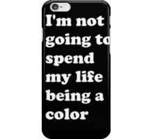 Michael Jackson, Black or White Quote iPhone Case/Skin