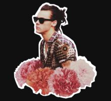 Harry Styles Man Bun  by martha m