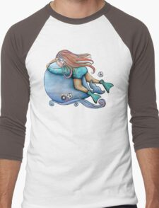Save Our Whales TShirt Men's Baseball ¾ T-Shirt