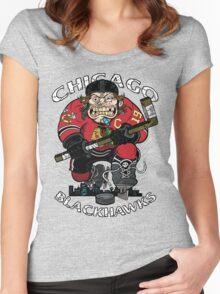 Skate or Die Women's Fitted Scoop T-Shirt
