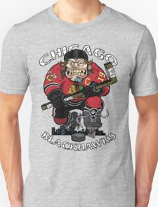 Chicago Blackhawk Skate or Die Unisex T-Shirt