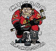 Chicago Blackhawk Skate or Die T-Shirt