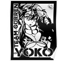 Yoko Gurren lagann Poster