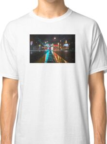 Los Angeles At Night Classic T-Shirt