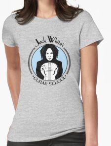 Jack White's Guitar School Womens Fitted T-Shirt