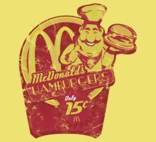 McDonald's Hamburgers - Only 15c! Kids Clothes