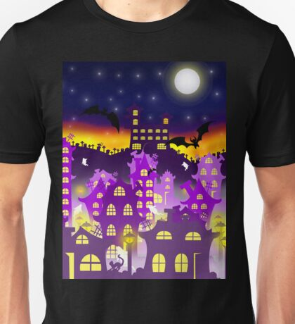 Halloween sunrise Unisex T-Shirt