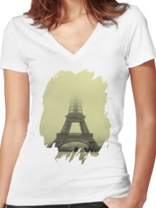 Tee Tour Women's Fitted V-Neck T-Shirt