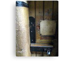 Lock: Old Melbourne Gaol Canvas Print