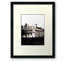 Abandoned Caretaker's Cottage Framed Print