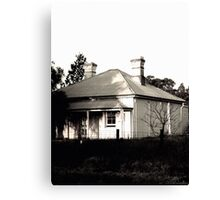Abandoned Caretaker's Cottage Canvas Print