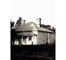 Abandoned Caretaker's Cottage Photographic Print