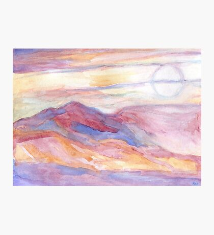 Indian Summer Sky Photographic Print