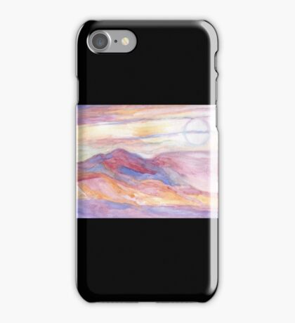 Indian Summer Sky iPhone Case/Skin