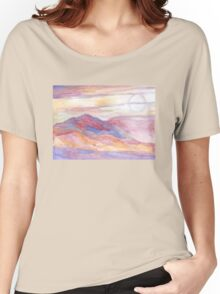 Indian Summer Sky Women's Relaxed Fit T-Shirt