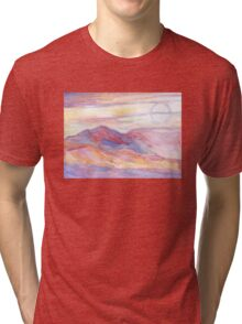 Indian Summer Sky Tri-blend T-Shirt