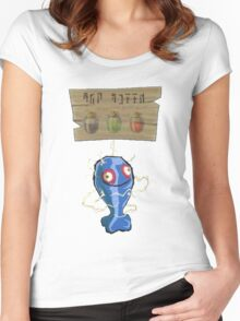 Chu Jelly Juice (Blue Chu) Women's Fitted Scoop T-Shirt