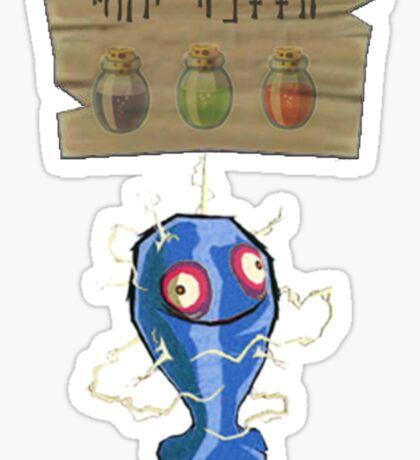 Chu Jelly Juice (Blue Chu) Sticker