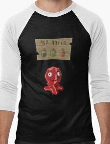 Chu Jelly Juice (Red Chu) Men's Baseball ¾ T-Shirt