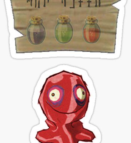 Chu Jelly Juice (Red Chu) Sticker