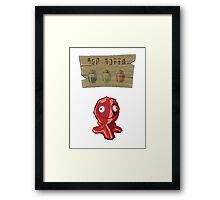 Chu Jelly Juice (Red Chu) Framed Print