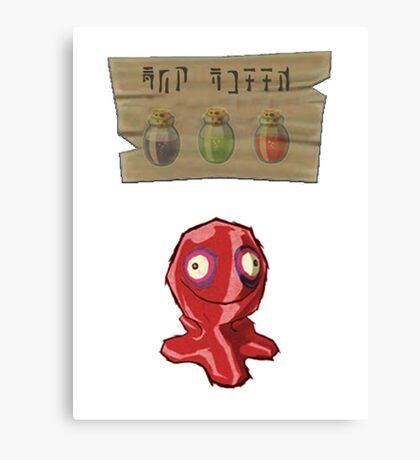 Chu Jelly Juice (Red Chu) Canvas Print