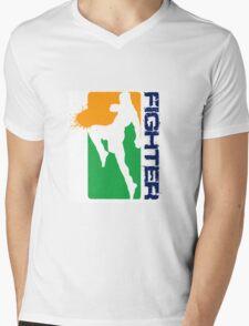 Sporty Leggings Mens V-Neck T-Shirt