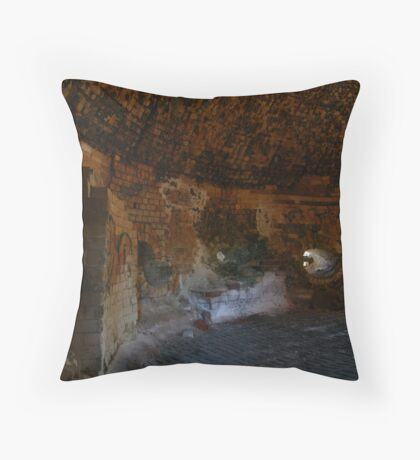 Brick Kiln Throw Pillow