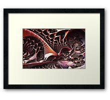 In The Depths Of Yggdrasill Framed Print