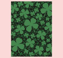 A Shamrock Field for St Patrick's Day Kids Clothes