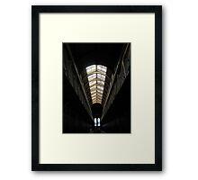 Ceiling- Old Melbourne Gaol Framed Print