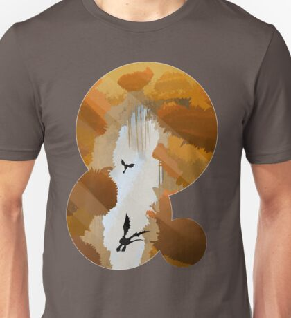 The best part of flying is the fall Unisex T-Shirt