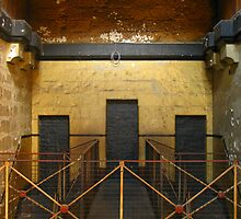 Door Trinity:Old Melbourne Gaol by Tania  Donald