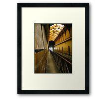 The Walk:Old Melbourne Gaol Framed Print