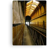 The Walk:Old Melbourne Gaol Canvas Print