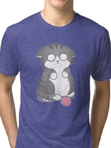 Tangled Kitty Tri-blend T-Shirt