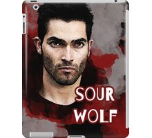 Derek: Sour wolf iPad Case/Skin