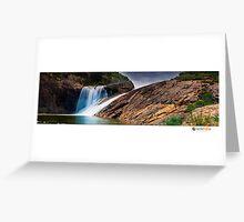 Serpentine Falls Greeting Card