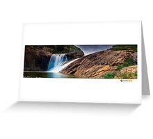 Serpentine Falls Greeting Card