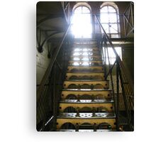 Stairway2: Old Melbourne Gaol Canvas Print