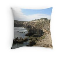 Coastline at Bay of Islands Throw Pillow
