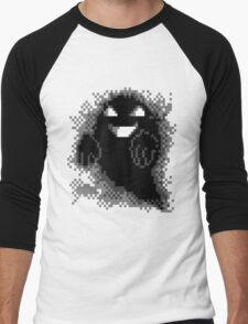 Lavender Town - Ghost Men's Baseball ¾ T-Shirt
