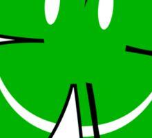 Happy Irish Shamrock Sticker