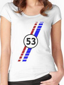 53 VW Beatle bug Women's Fitted Scoop T-Shirt