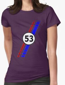 53 VW Beatle bug Womens Fitted T-Shirt