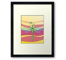 Critterz - Dragonfly 3 Framed Print