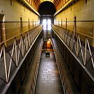 Old Melbourne Gaol by Tania  Donald