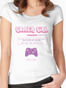 Gamer Girl Women's Fitted Scoop T-Shirt